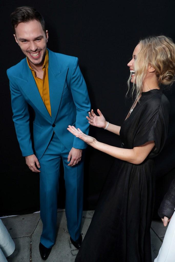 Jennifer Lawrence Nicholas Hoult Dark Phoenix Premiere