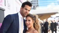 Jessie James Decker and Eric Decker.