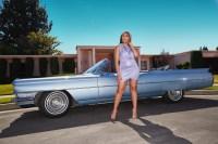 Jordyn Woods modeling her Boohoo collection