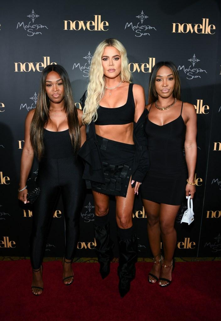Khadijah Haqq McCray, Khloe Kardashian and Malika Haqq