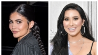 A split image of Jaclyn Hill and Kylie Jenner