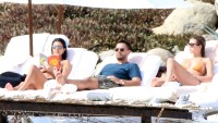 Kourtney Kardashian Scott Disick Sofia Richie mexico vacation sleeping arrangements details KUWTK