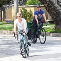 Mia Goth and Shia Labeouf Ride Bikes After Divorce