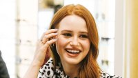 Madelaine Petsch meets with fans during her Privé Revaux M3 capsule collection launch at Dillard's in Houston
