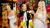 Nina Agdal Sara Foster and Erin Foster Celebrate Knot-A-Real-Wedding