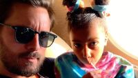Scott Disick North West Hang Out