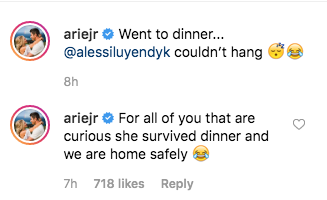 Arie Luyendyk comment about baby alessi parent shamers mommy shamers lauren luyendyk