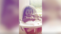 True Thompson Sitting in High Chair on Khloe Kardashians Instagram Story