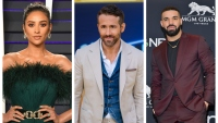 Shay Mitchell Ryan Reynolds Drake Canadian Celebrities