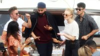 Sophie Turner and Joe Jonas popped bottles of Ruinart Blanc de Blancs champagne as they cruised along the Seine in Paris