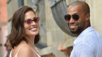 Ashley Graham and Justin Ervin in All White