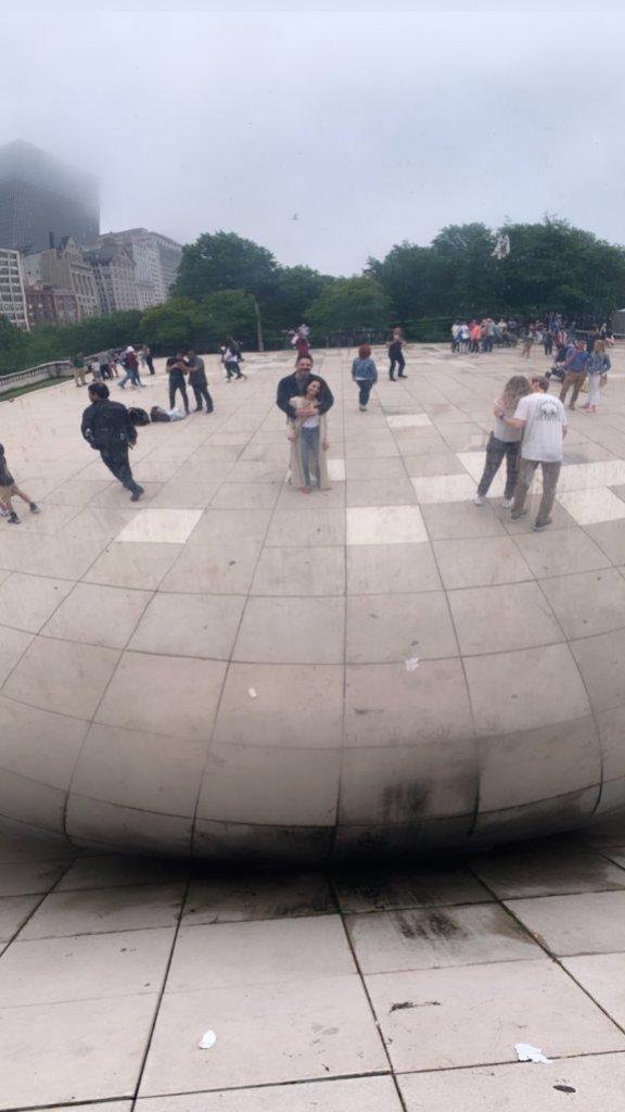 Jenna Dewan Steve Kazee chicago trip the bean
