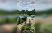 Teen Mom Star Kailyn Lowry Backyard of New House