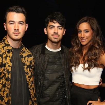 Kevin. Joe, Danielle Jonas