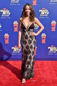 Kristen Doute at the MTV Movie & TV Awards Red Carpet