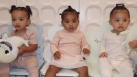 Chicago West True Thompson Stormi Webster kylie jenner instagram cousins the triplets