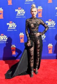 Lala Kent at the MTV Movie & TV Awards Red Carpet