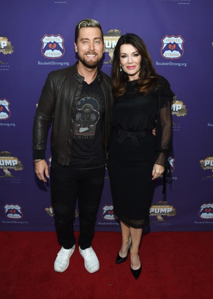 Lance Bass and Lisa Vanderpump