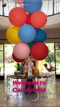 Candy and Balloons
