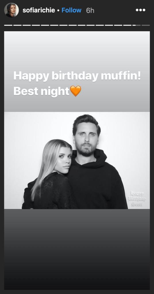 sofia-richie-muffin-scott-disick-instagram