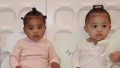 True Thompson and Stormi Webster