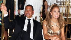 Alex Rodriguez Jennifer Lopez 50th Birthday Star Island Miami