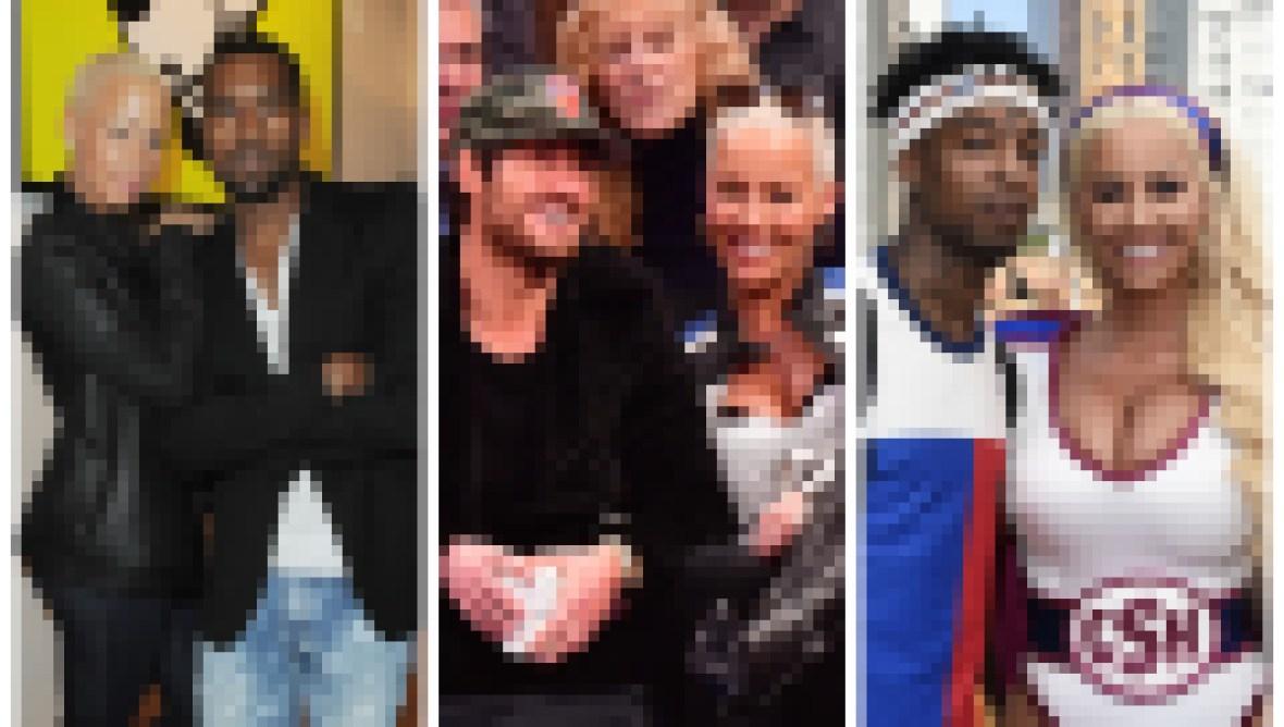 Amber Rose Dating timeline Kanye West 21 Savage Wiz Khalifa