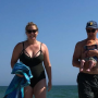 Amy Schumer with her husband and son