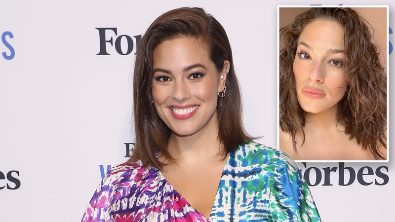 Summer Babe! Ashley Graham Shows Off Her Freckles With a Natural Glam Look