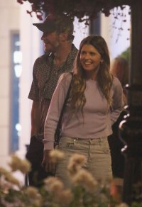 Chris Pratt and Katherine S Hold Hands During Date Night