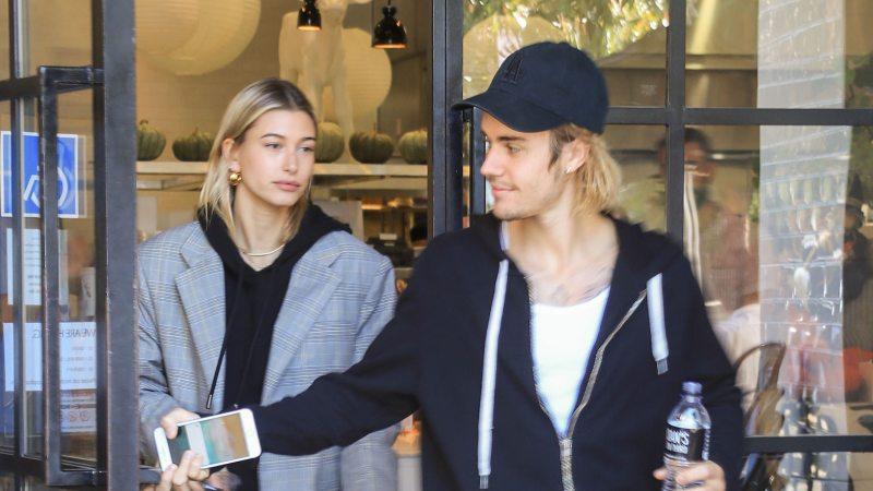 Justin Bieber and Hailey Baldwin Cuddle Up for a Cozy Photo After an 'Amazing' Weekend Together