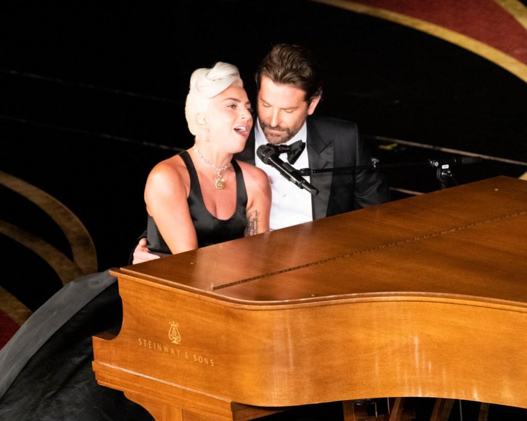 Lady Gaga Singing Piano With Bradley Cooper