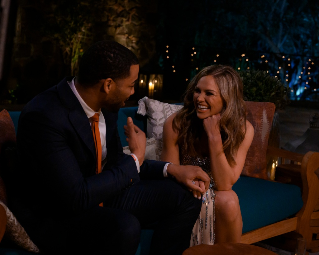 Hannah Brown and Mike Johnson the bachelorette