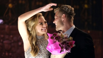The Bachelorette Hannah Brown Luke Parker Instagram About Why He Went on the Show
