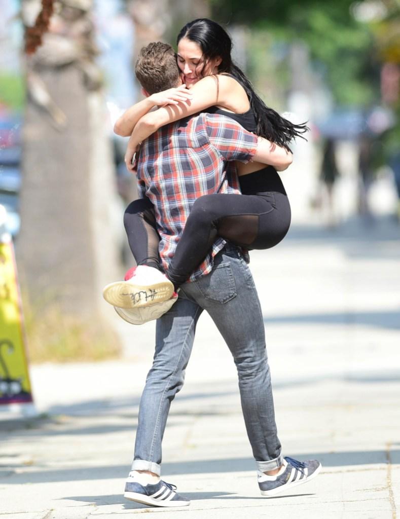 Nikki Bella Artem Chigvintsev Hugging PDA Dating