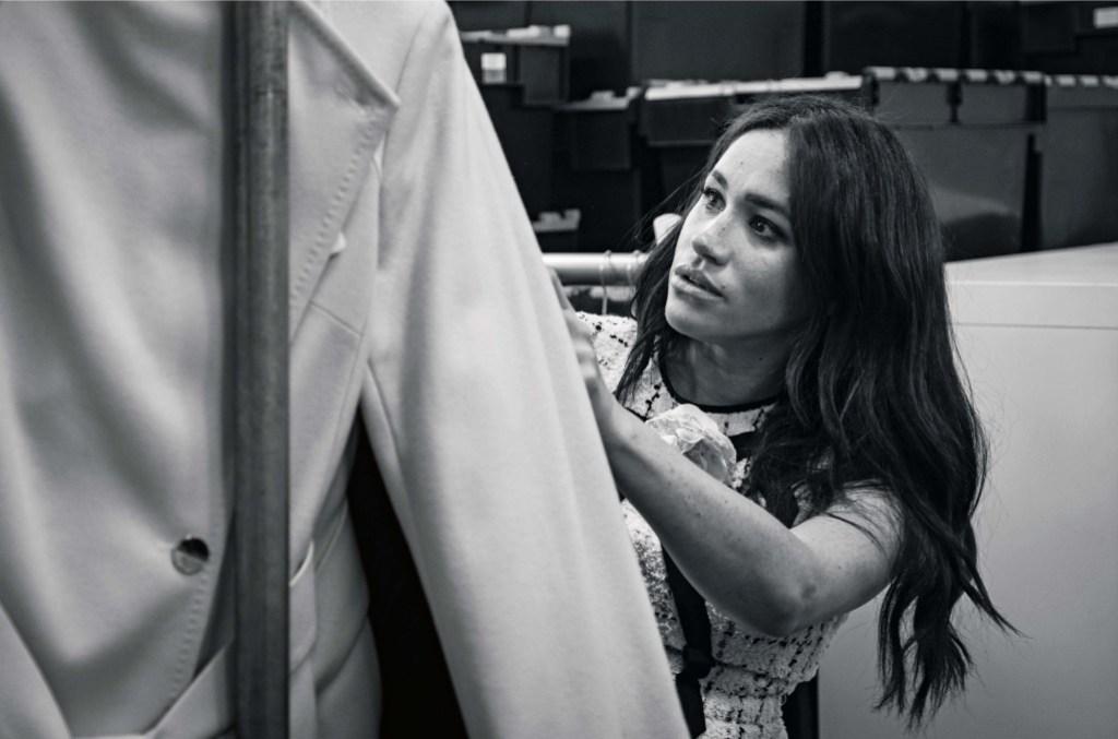 Meghan Markle British Vogue
