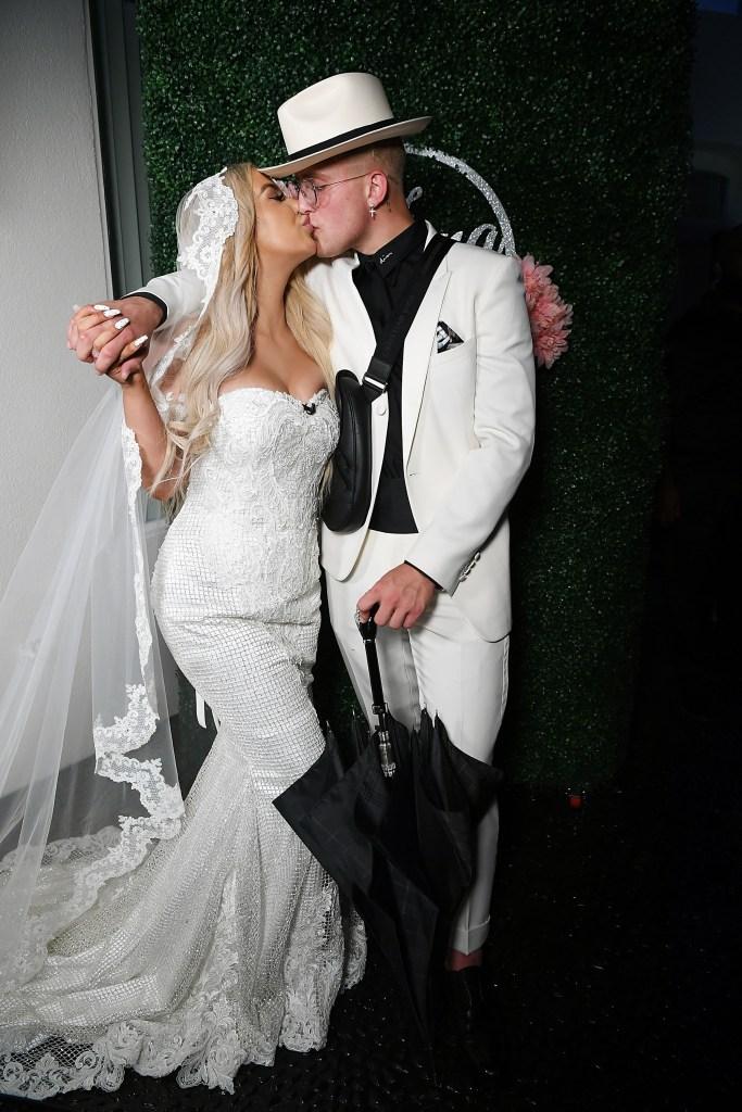 Jake Paul and Tana Mongeau Wedding