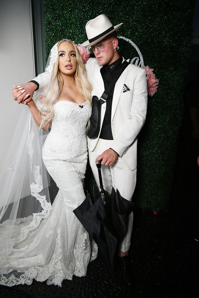Jake Paul and Tana Mongeau Wedding Dress Fashion Nova