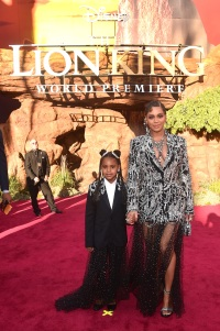 Beyonce and Blue Ivy Carter Lion King Premiere