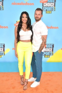 Nikki Bella and Artem Chigvintsev Kids Choice Awards