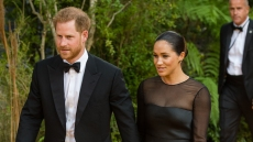 Meghan Markle Prince Harry Lion King Premiere Pharrell Conversation