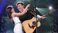 Camila Cabello and Shawn Mendes Hug on Stage Hugging