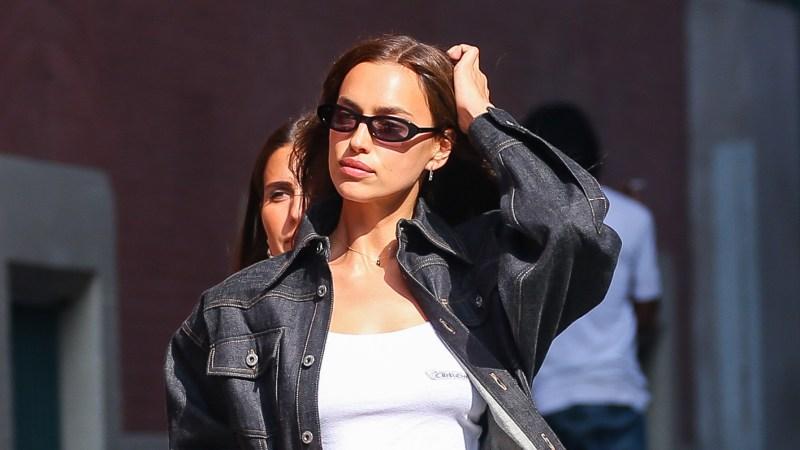 Irina Shayk Buys Lingerie in NYC After Bradley Cooper Split