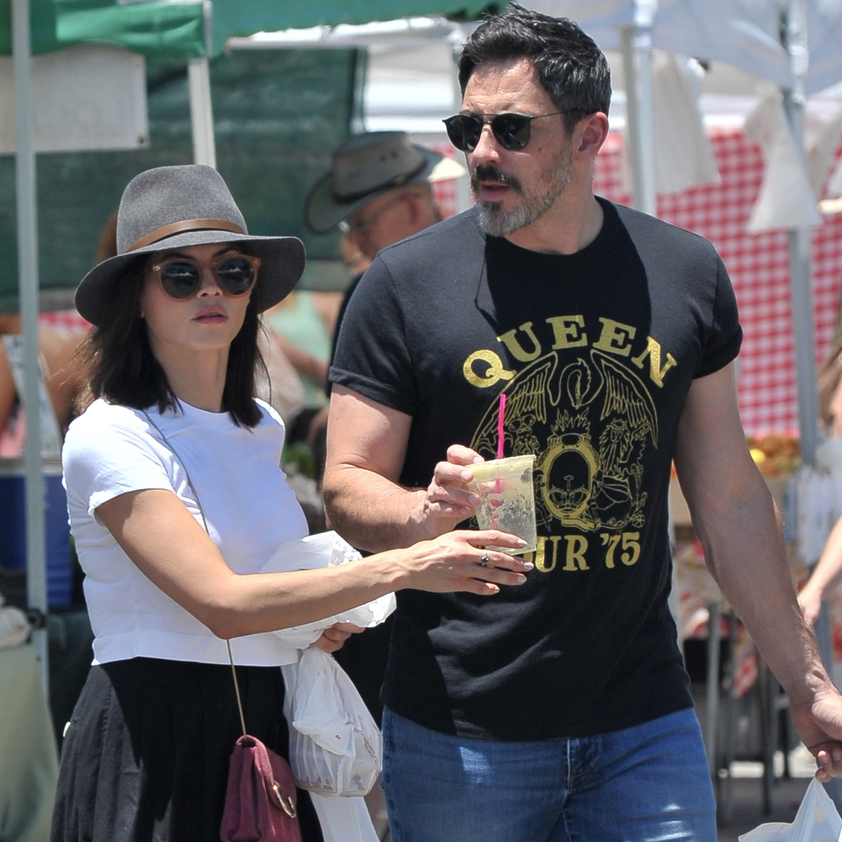 Jenna Dewan and Boyfriend Steve Kazee Step Out for a Sweet Date at the Farmers' Market — See Photos!