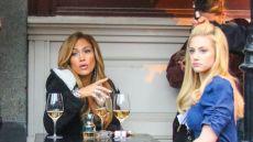Jennifer Lopez and Lili Reinhart