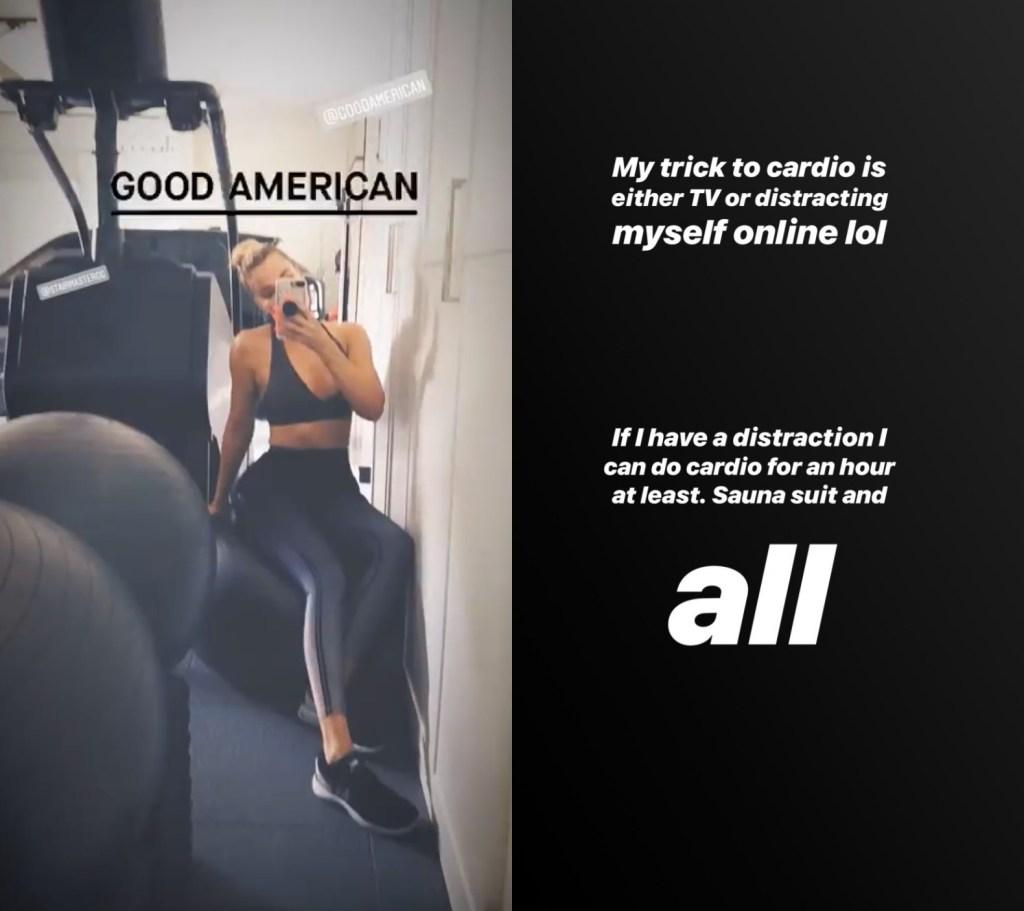 Khloe Kardashian Fitness Tips