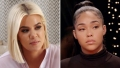 Khloe Kardashian Jordyn Woods Red Table Talk Show