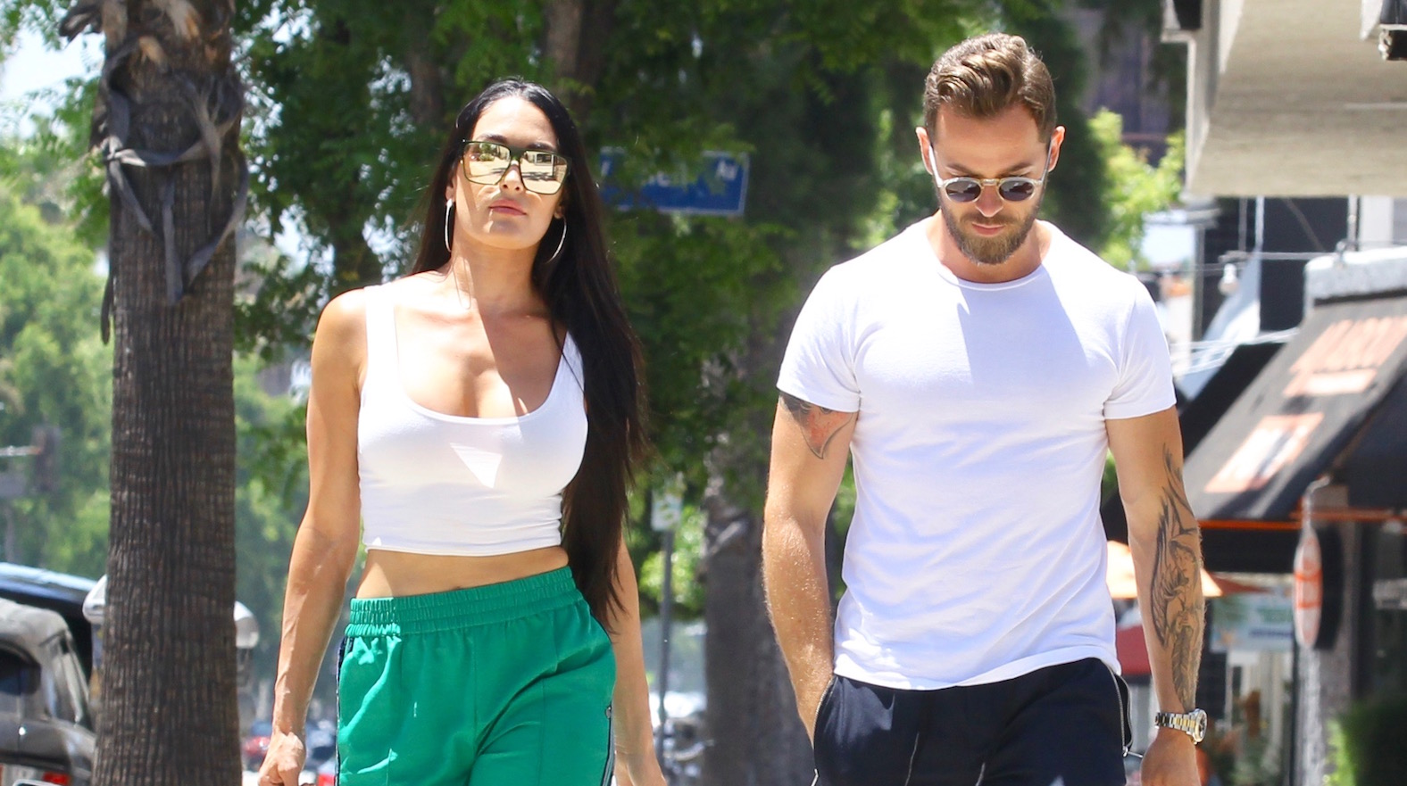 Nikki Bella and Artem Chigvintsev Run Errands Like a *Couple* After Announcing They're Officially 'Boyfriend and Girlfriend'
