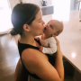 Maren Morris Kissing Son Hayes