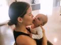 Maren Morris Kissing Son Hayes